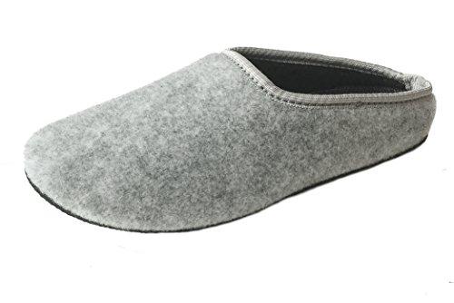 PantOUF Cambrai – Zapatillas de Casa de Fieltro – Mujer/Hombre