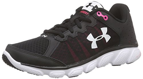Under Armour Ua W Micro G Assert 6, Chaussures de Course Femme Noir (Black)