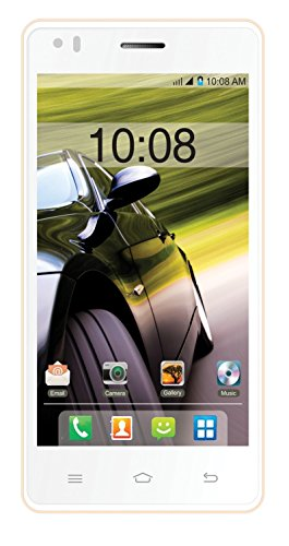 Intex Aqua Speed HD (White-Champagne, 8 GB)