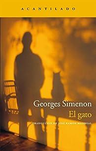 El gato par Georges Simenon