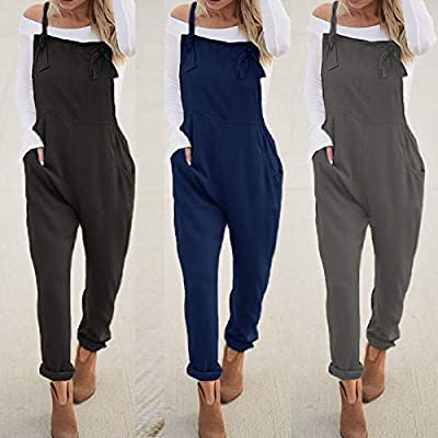 VONDA Women's V Neck Shirts Adjustable Long Sleeve Pleated Asymmetric Hem Blouse