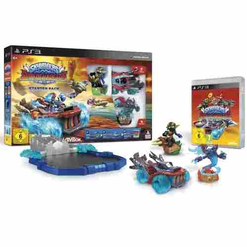 Skylanders SuperChargers: Starter Pack - [PlayStation 3] - Figuren Ps3 Skylanders