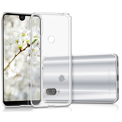 kwmobile Wiko View 2 Pro Hülle - Handyhülle für Wiko View 2 Pro - Handy Case in Transparent