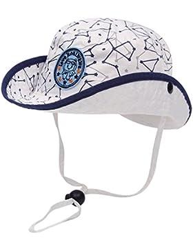 Kaiwawa Unisex Babymütze Kleikind Kappe Sommer Sonnenmütze Baumwolle Schirmmütze UV-Schutz Sonnenhut