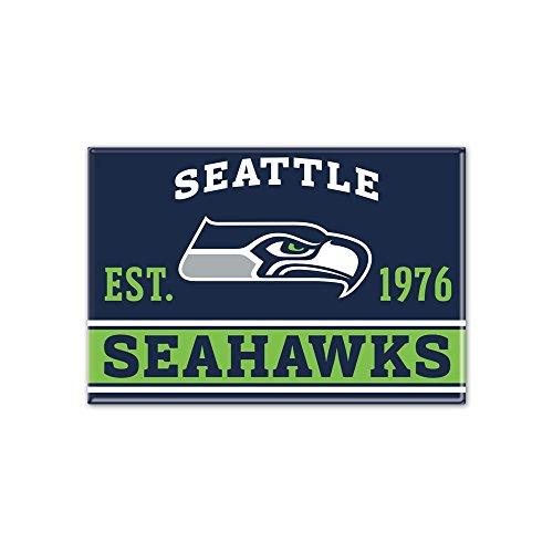 NFL Metall Magnet 6x8 cm Seattle Seahawks
