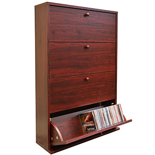 cd-200-tilt-drawer-media-cd-storage-cupboard-mahogany