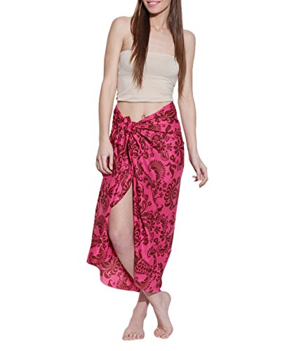 Cotton Voiles Light Weight Sarong Wrap Cover Up Swimwear Women Dresses From India