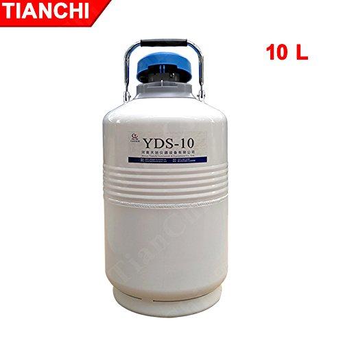 Flüssigstickstoff behälter 10L dewar-Kolben flüssiger stickstoff-Kanister
