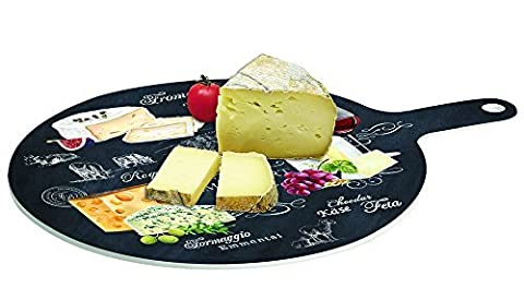 Cheese Serving Paddle - Made from Porcelain with Slate Effect