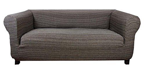Houselinen housse lastique de canap chesterfield - Housse pour assise de canape ...
