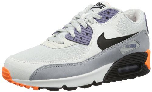 Nike Air Max 90 Essential Scarpe da ginnastica, Uomo Blanco / Gris / Naranja