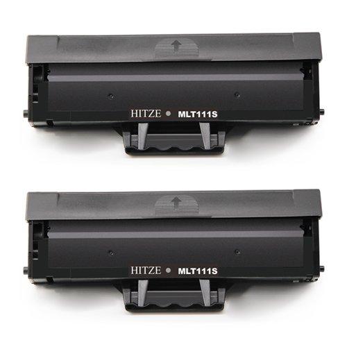 Hitze per Samsung MLT-D111S Cartuccia Toner, MLT D111S Compatibile per Samsung Xpress M2070 M2070W M2070FW M2070F M2070FH M2070HW M2020 M2020W M2021W M2022 M2022W M2026 M2026W M2071W M2078 (2 Nero)