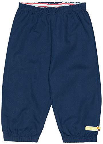 Outdoor-finish (loud + proud Unisex Baby Wasserabweisende Outdoorhose, aus Bio Baumwolle, GOTS zertiziziert, Blau (Ultramarin Ul), 80 (Herstellergröße: 74/80))