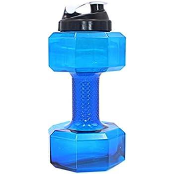 2.2L PETG Hanteln große Wasserflasche frei Sport laufen Fitness