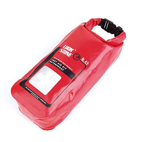 Wasserdicht Erste Hilfe Notfallapotheke Tasche Kasten für Outdoor Reisen Angeln Kajak Kanufahren Segeln Rafting Camping Reisetasche