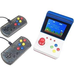 Retro Arcade Mini Classic Konsole – mit zwei Steuergriffen – integrierte 360-Spiele – kann über ein AV-Kabel an den Fernseher angeschlossen werden