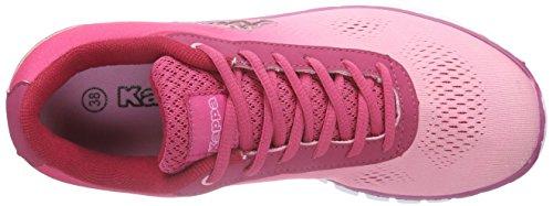 Kappa - Sunrise Light Footwear Unisex, Mesh/Synthetic, Scarpe da ginnastica Donna Rosa (Rosé/pink)