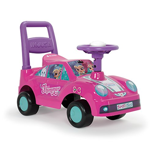 Injusa Shimmer and Shine Correpasillos Racing Car Color Rosa 11021