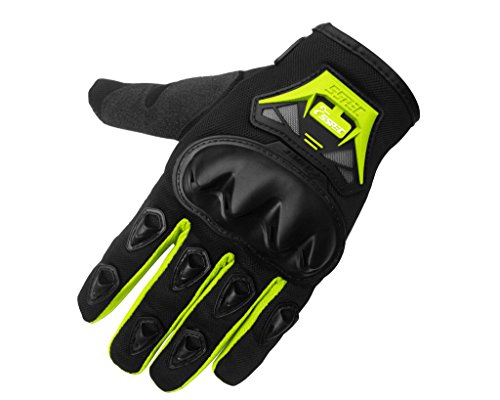 Auto Pearl Premium Quality Bike Racing/Riding Hand Grip Glove Autopearl Cpy MC29 Black Green XL (1 Pair Set of 2 pcs.) For All Bikes.  available at amazon for Rs.799