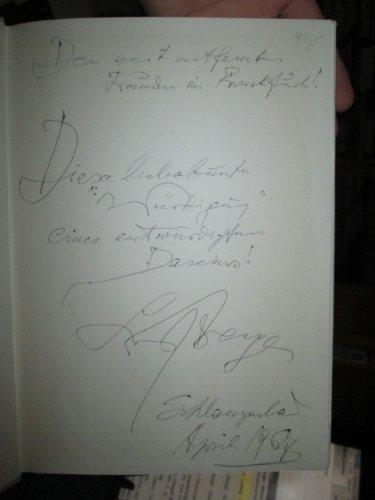 Ludwig Berger - Eine Würdigung *SIGNIERT* (Signiert Hase)
