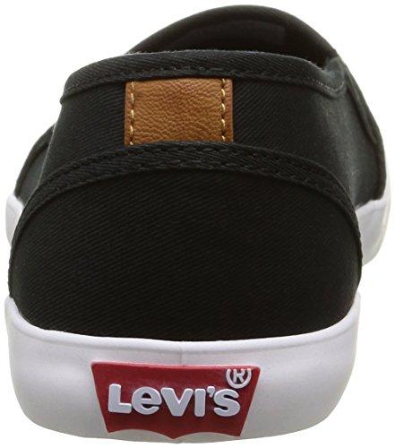 Levi's Palmdale 224476 733, Baskets Basses femme Noir (59)