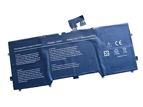 6300mAh Batterytec® Batterie pour DELL XPS 13 Ultrabook Series, DELL XPS 13-L321X 13-L322X L321X L322X Series, Y9N00. [7.4V 6300mAh, 12 mois de garantie]