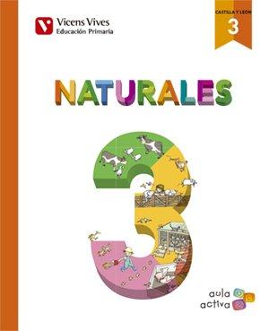NATURALES 3 AUTO+ CAST Y LEON SEP (AULA ACTIVA): Naturales 3. L. Alumno Y Separata Castilla Y León. Aula Activa: 000002 - 9788468236865 por Maria Jesus Martinez De Murguia Larrechi