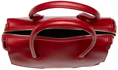 Gaudì Top Handle Bag Linea Audrey, Borsa a Mano Donna, 32 x 16 x 16 cm (W x H x L) Rosso (Red)