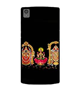 Printtech One Plus X Back Cover Indian Gods Lord Printed Case
