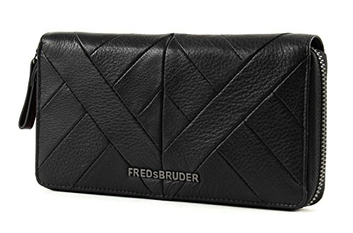 FREDsBRUDER Peak Collection Wallet RV Black (Collection Rv-geldbörse)