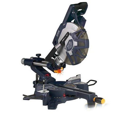 GMC Advanced Tools DB250SMS [5692] 1800W Double Bevel Slide Compound Mitre Saw 250mm —