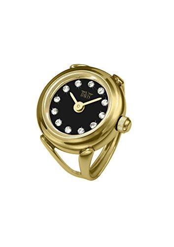 Davis - Ring Watch 4175 - Anello Orologio Donna Strass Cristallo Swarovski...
