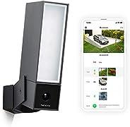 Netatmo Caméra de Surveillance Extérieure Intelligente avec éclairage intégré Presence Sécurité, Détection de