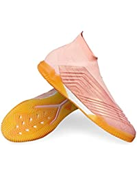 Zapatilla de fútbol Sala adidas Predator Tango 18+ IN Clear Orange-Trace Pink