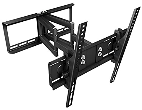 RICOO Support TV Mural orientable inclinable R08 Meuble TV Murale Support televiseur Support Mural TV LED LCD Support ecran plat Supports muraux TV Support VESA 400x400 universel toutes marques