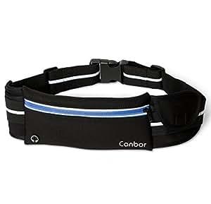 Marsupio sportivo, Cintura da corsa Canbor cintura per correre borsa per apple iPhone iPod Samsung Galaxy Note e altro