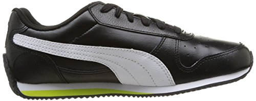 Puma Fieldsprint L, Baskets mode garçon Noir (Black)