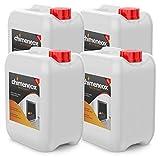 4 X 5L Bioetanol 96% origen Vegetal para chimeneas - 20l Combustión de alta calidad...