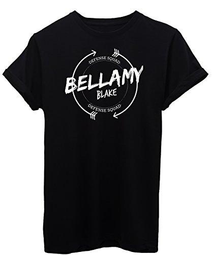 iMage T-Shirt Bellamy Blake Hundert 100 - Fernsehserie Damen-M - Schwarz