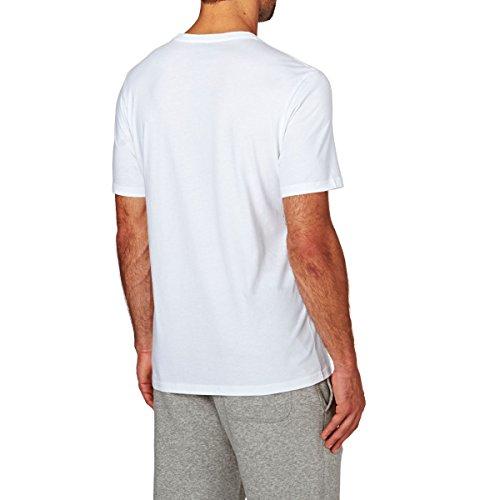 Converse Herren Chuck Patch Tee T-Shirt Weiß