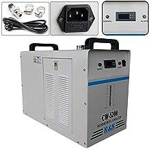 Enfriador Agua Industrial CW-5200 0.6KW Agua Chiller Enfriador para CNC láser de grabado