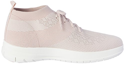 Nero Di Mazarine Blu Di FitFlop Uberknit Sneakers Alte Slip-on Multicolour (Neon Blush/White)