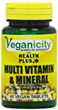 Veganicity Multi Vitamin Plus Mineral General Health and WellBeing Supplement 60 Tablets from Health + Plus Ltd