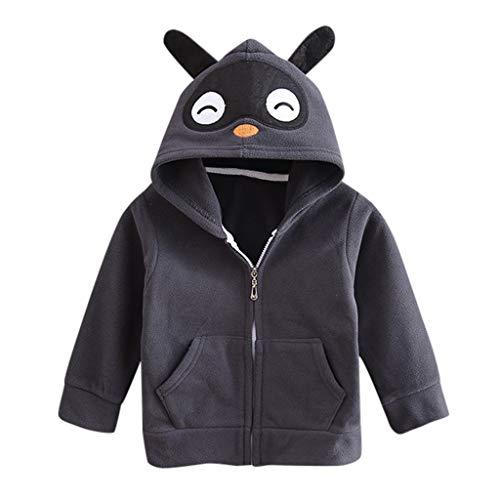 Dasongff Kleinkind Kinder Baby Mädchen Jungen 3D Vivid Cartoon Strickjacken Kapuzenpullover T-Shirt Tops Mantel Jacke Sweatjacke