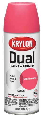 krylon-8821-dual-gloss-watermelon-paint-and-primer-12-oz-aerosol-by-krylon