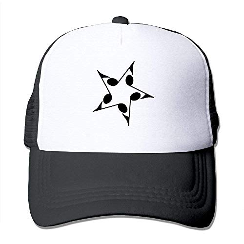 AOHOT Herren Damen Baseball Caps,Hüte, Mützen, Classic Baseball Cap, Music Note Star Men & Women Flat Cap-Fashion Pom-pom Beret Hat