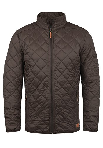 Blend Stanley Herren Steppjacke Übergangsjacke Jacke Mit Stehkragen, Größe:L, Farbe:Coffee Brown (71507)