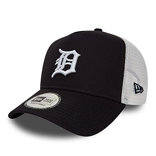 New Era Team Essntl Trucker Adjustable Cap Detroit Tigers Dunkelblau, Size:One Size