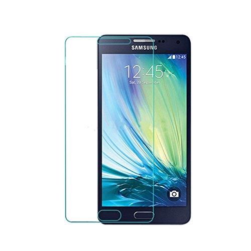 2x Panzerglas Glasfolie Samsung Galaxy A5 (2016) Echt Glas Schutzfolie - 9H Hartglas von Vada-Tec