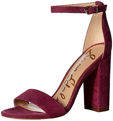 Sam Edelman Damen Yaro, Mulberry Pink, 38.5 M EU - Buckle Thigh High Boot